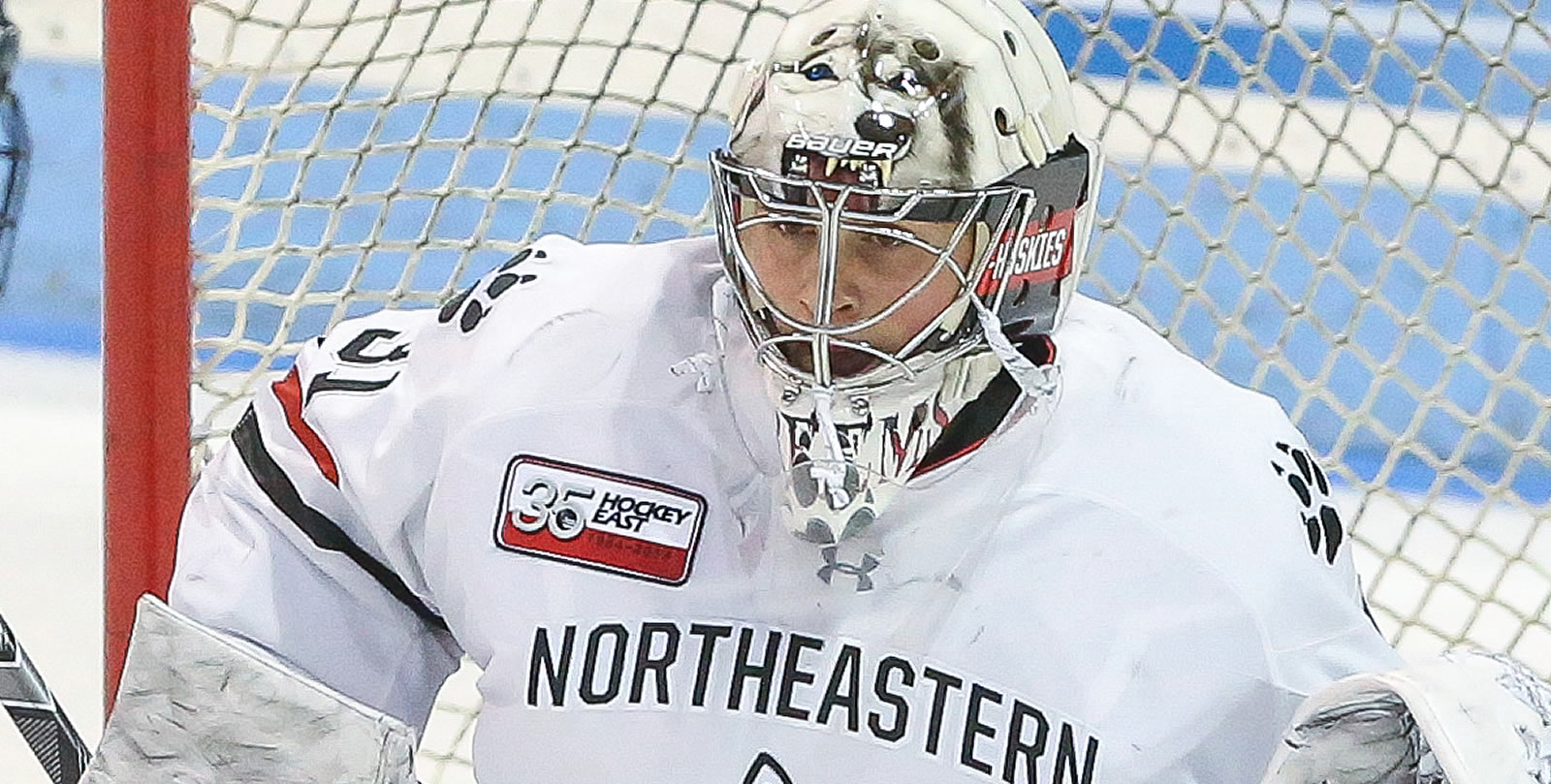 3f38a5b1886 Northeastern s Primeau Earns 2019 Richter Award. Award honors the most  outstanding goaltender in NCAA men s hockey ...